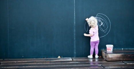 Why Kids Should Work on a Vertical Surface   Visual Thinking   Scoop.it