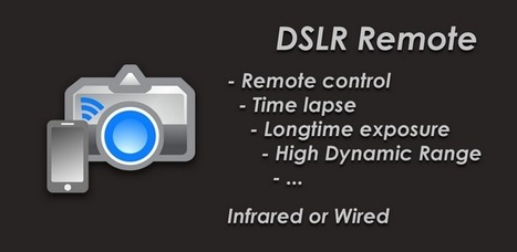 DSLR Remote - Applications Android sur GooglePlay | Android Apps | Scoop.it