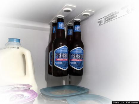 A Gravity-Defying Way To Store Even More Beer In Your Fridge - Huffington Post   starke Neodym Magnete im Magnetshop günstig kaufen ?   Scoop.it