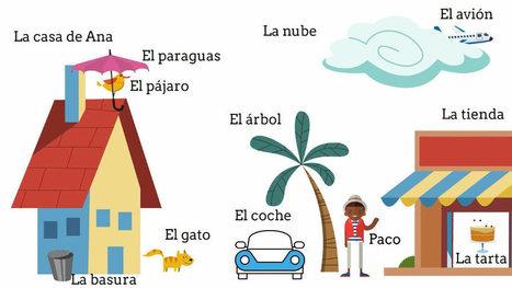Preposiciones y adverbios de lugar | ProfeDeELE.es | Español para los más pequeños | Scoop.it