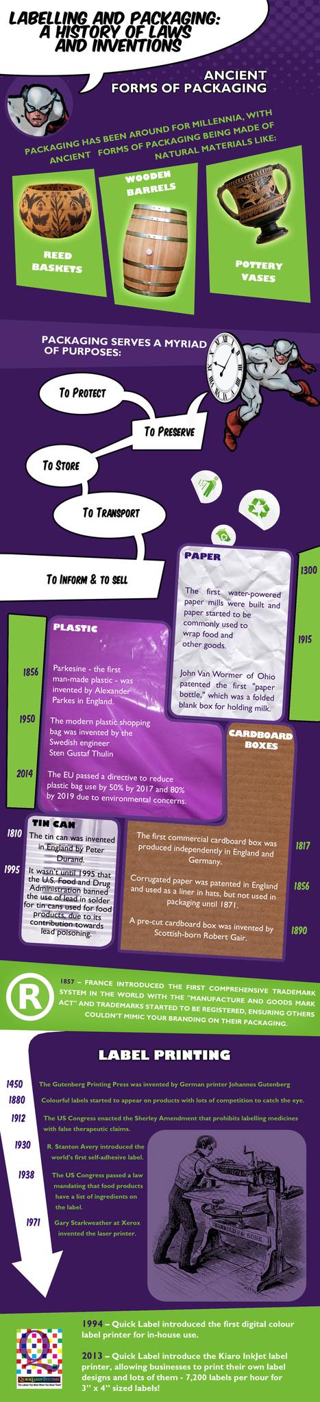 A colour label printer gives you the edge | Colour Label Printers | Scoop.it