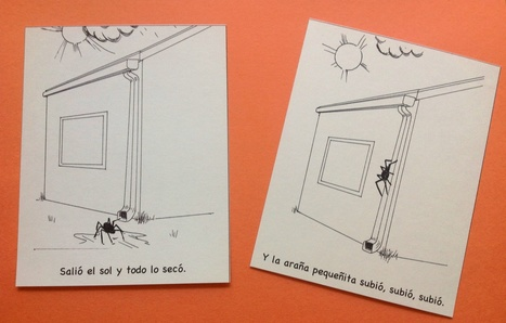 The Itsy Bitsy Spider in Spanish – Printable Sequence Cards | kindergarten | Scoop.it
