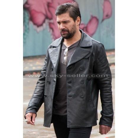 Beta Test Manu Bennett Black Coat   Sky-Seller : Men Leather Jackets   Scoop.it