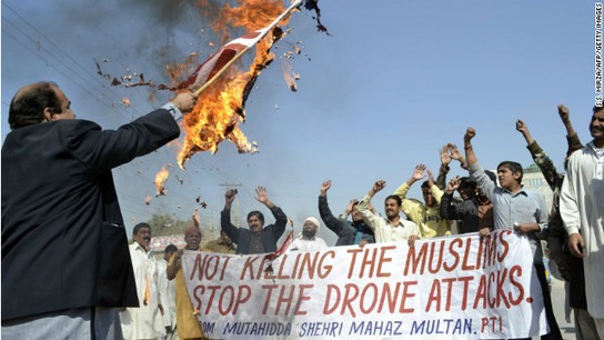 Pakistan had secret [under the table deals] on dozens of drone strikes, 1000s of civilians MURDERED