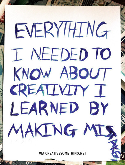 Everything I needed to know about creativity… | Innovatus | Scoop.it