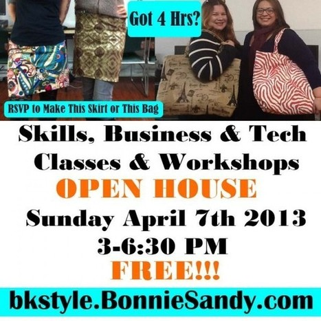 Sample Classes and Workshops FREE at Esaie's Open House | Brooklyn By Design | Scoop.it