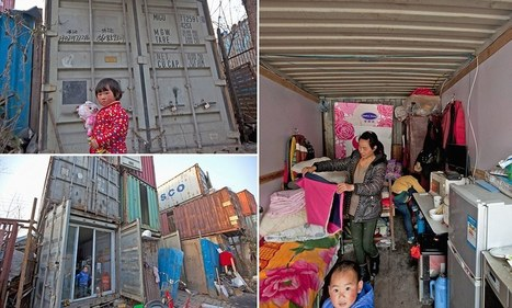 The shipping container village: Families forced to live in desperate conditions for TEN YEARS due to lack of houses | Miss Harrison Geography | Scoop.it