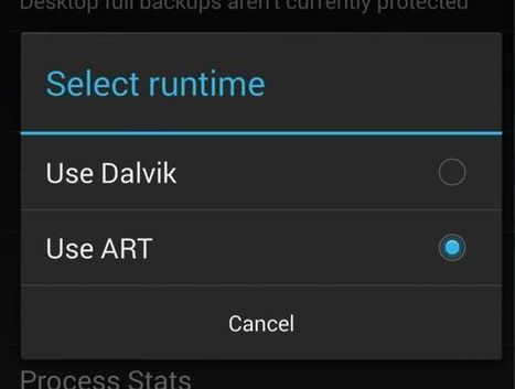 Android Run Time (ART) – Speed Up your Android Device and Make it's Battery Lasts Longer | Going Techy | Scoop.it