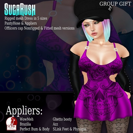 July Group Gift just hit the store!! | Finding SL Freebies | Scoop.it