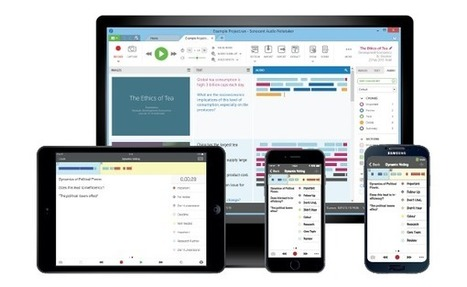 Audio Notetaker Version 4 Launched: Integration with Dragon NaturallySpeaking and more!   Adaptive Technology Resources Blog   OT mTool Kit   Scoop.it