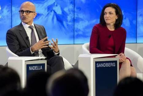 Tech Companies Bring Battle Over Data to Davos | Great articles to share ! | Scoop.it