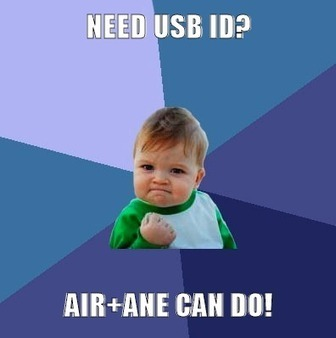 Sleepy Design: [ANE] Use AIR to get USB device ID | Everything about Flash | Scoop.it