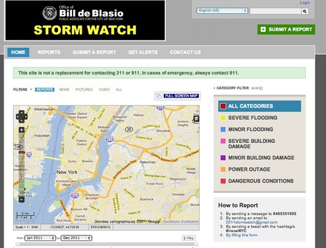 Irene Storm Watch | Mapping NYC hurricane | Scoop.it