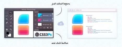 CSS3Ps - free cloud based photoshop plugin that converts layers to CSS3 styles. | Time to Learn | Scoop.it