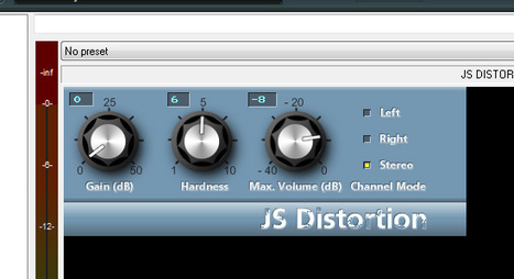 Reaper Jesusonic Distortion plugin has a better Graphic User Interface   DIY Music & electronics   Scoop.it