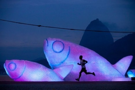 Giant Fish Sculptures | Art, Design & Technology | Scoop.it