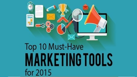 Top 10 Must-Have Marketing Tools For 2015 | Siteber | SEO | Scoop.it