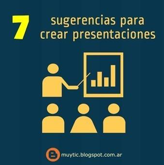 7 sugerencias para crear presentaciones atractivas y eficaces de forma sencilla | Educacion, ecologia y TIC | Scoop.it