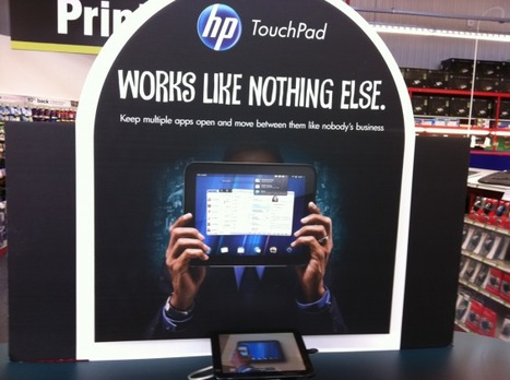 The HP TouchPad Lands At UK Retailers [Pics] | TouchPad Talk | openwebOS | Scoop.it