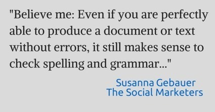 Grammarly: Just another Spellchecker, or your path to better content? | Barcelona green tourist | Scoop.it