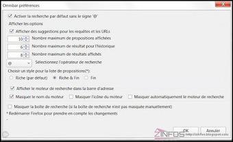 Firefox - intégrer la barre de recherche à la barre d'adresse | François MAGNAN  Formateur Consultant | Scoop.it