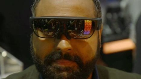 Will the future be augmented reality glasses? - BBC News | AR - QR | Scoop.it