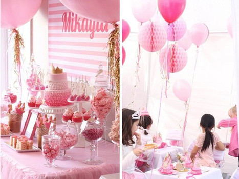 Pinkalicious 6th Birthday Princess Party | Bickiboo Party Supplies | All about Me | Scoop.it