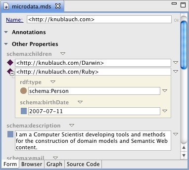 Microdata and RDFa in TopBraid Composer | Digitization&Metadata | Scoop.it