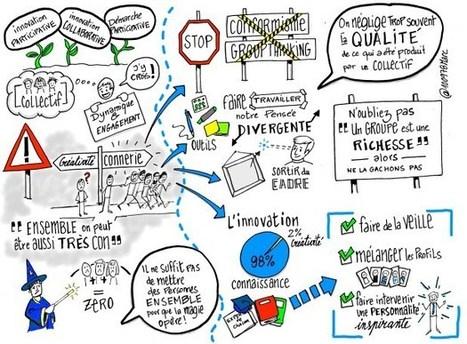 Atelier collaboratif et brainstorming : Attention aux idées de merde ! | Veille sur l'innovation pédagogique - Trends on pedagogical innovation  - KCenter SKEMA | Scoop.it