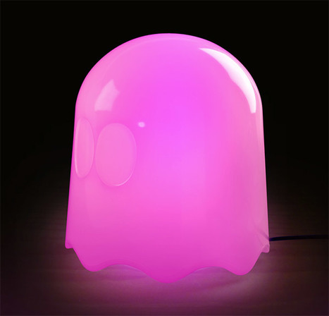 Pac-Man Ghost Lamps Get Officially Licensed, Officially Awesome | All Geeks | Scoop.it