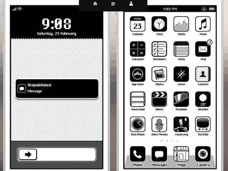 Cool iOS 86 Retro Theme for iPhone | Science and Technology | Scoop.it