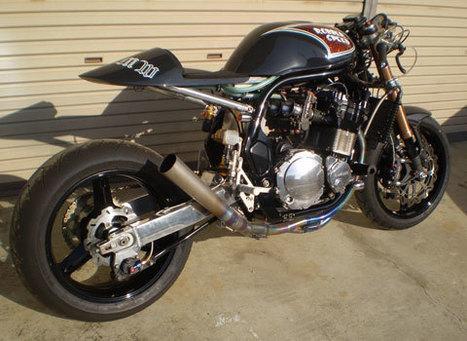 Suzuki vintage racing cafe | Vintage Motorbikes | Scoop.it