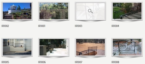 Safe & graceful range of iron railings for commercial and residential | Custom Courtyard Gates Design with variant styles around Sacramento | Scoop.it