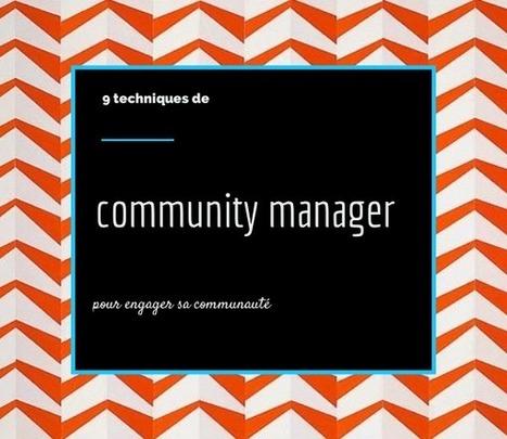 9 techniques de community manager pour engager sa communauté -  Studio Ventilo   Communication Digitale - Nouvelles technologies   Scoop.it