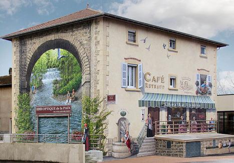 A-Fresco. Fresque à Estrablin | Tourisme en pays viennois | Scoop.it