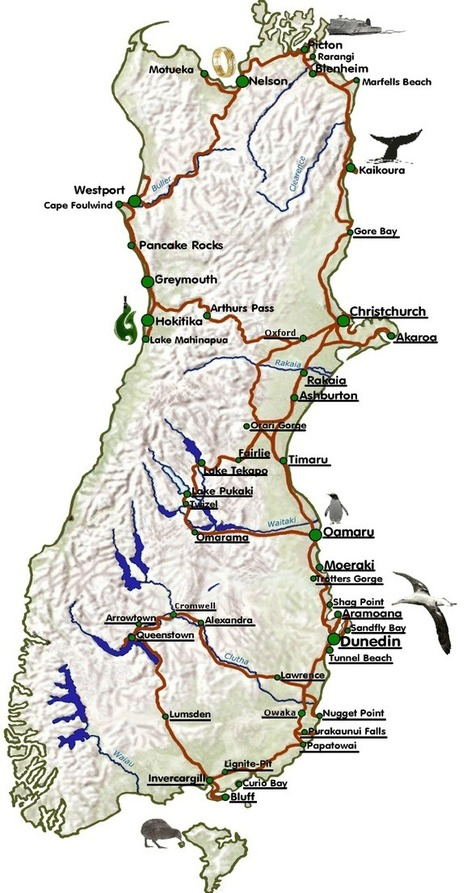 Erlebe die Faszination Neuseeland › Weit weg Reisen   Newzealand   Scoop.it
