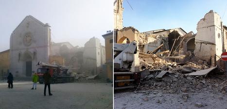 Un nuevo terremoto destruye la Basílica de San Benito en Nursia | Protocolos del apocalipsis | Scoop.it