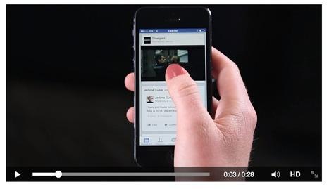 Facebook ADV Ai nastri di partenza i Video Ads su Newsfeed | SEO & Web marketing | Scoop.it