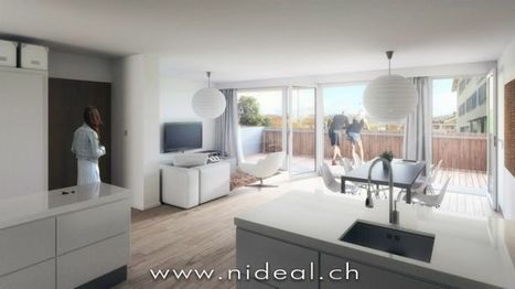 Appartement neuf - Granges (Veveyse) | ALL the WORLD | Scoop.it