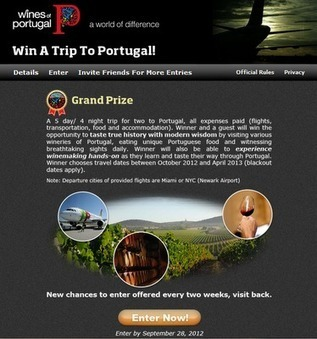 Win a trip to Portugal with Wines of Portugal!   Wired Wines of Alentejo   Scoop.it