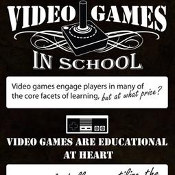 Video Games in School (Infographic) | Linguagem Virtual | Scoop.it
