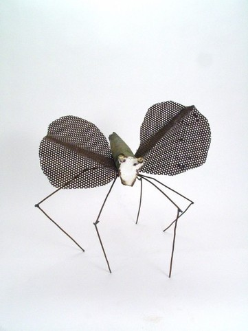Recycled Metal Butterfly | Recycled Crafts | Scoop.it
