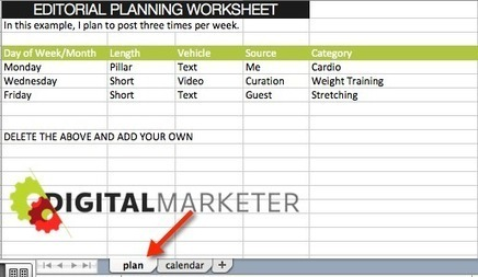 Bloggers: Build an Editorial Plan in 10 Minutes or Less - Digital Marketer | Real PRO Blog Advisor | Scoop.it