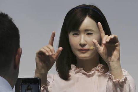 Cette belle japonaise est une robot dans le service clientèle de Toshiba | Une nouvelle civilisation de Robots | Scoop.it