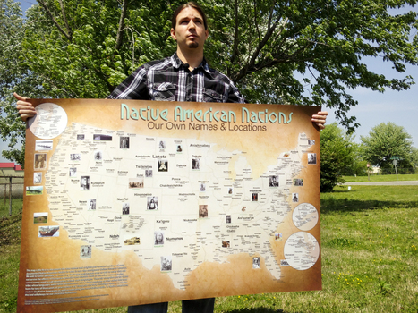 The Map Of Native American Tribes You've Never Seen Before | FCHS AP HUMAN GEOGRAPHY | Scoop.it
