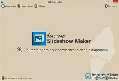 Icecream Slideshow Maker : un logiciel gratuit et en français pour créer facilement des diaporamas vidéo | Outils et astuces du web | Scoop.it