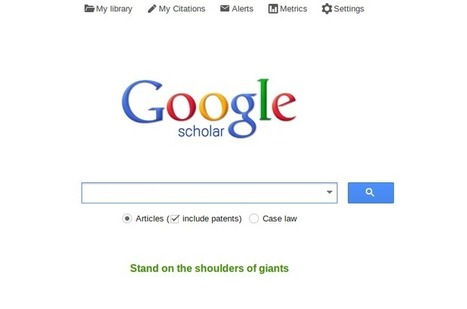 How to get indexed by Google Scholar? | Alison's Scoops | Scoop.it