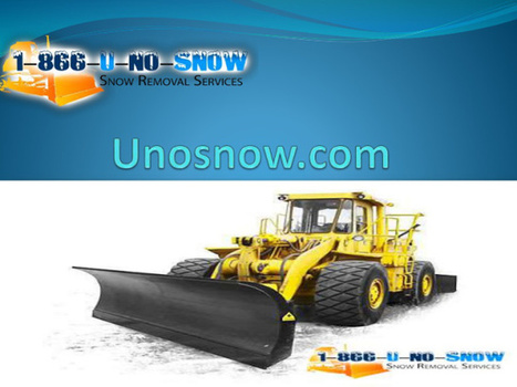Snow removal Richmond hill with expert solutions | Roof repair services in Vancouver | Scoop.it