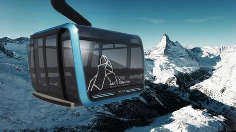 Zermatt : 42 millions de Francs Suisses pour construire la plus haute télécabine tricable du monde | transports par cable - tram aérien | Scoop.it