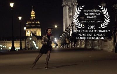 The Best Cinematography award went to Louis Bergogne for PARIS EST A NOUS. La Jolla Int. Fashion Film Festival | Cinematography | Scoop.it